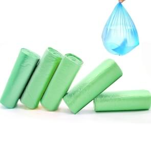 5 PCS Environmental Classification Point Type Broken Color Garbage Bag, Size: 15*11cm (Green)
