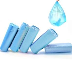 5 PCS Environmental Classification Point Type Broken Color Garbage Bag, Size: 15*11cm (Blue)