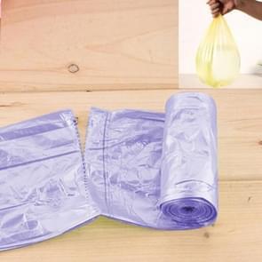 5 PCS Environmental Classification Point Type Broken Color Garbage Bag, Size: 15*11cm (Purple)