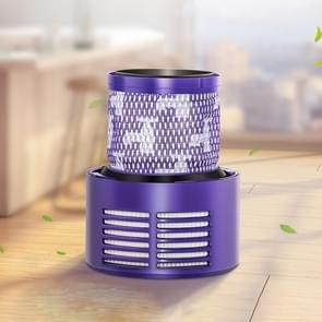 Vacuum Cleaner Filter Core Rear Parts Accessories for Dyson V10, US Version(Purple)