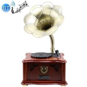 Multi-function Retro Music Disc Player Tuntable Record Player Bluetooth USB Subwoofer Speaker