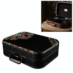 Portable Retro Bluetooth Speaker Music Disc Player LP Tuntable Record Player (Indian Sheep Head)