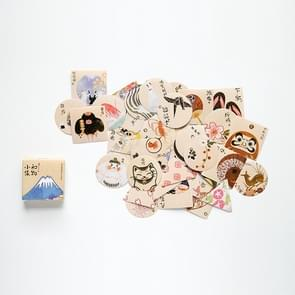 Japan Life Set Pattern Cartoon Decorative Sticker