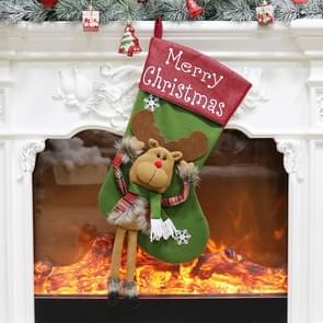 Christmas Ornament Decoration Elk Merry Christmas Christmas Stocking Gift Bag Pendant