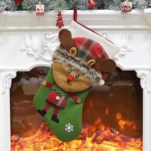 Christmas Ornament Decoration Elk Christmas Stocking Gift Bag Pendant