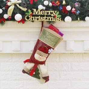 Christmas Ornament Decoration Snowman Merry Christmas Christmas Big Stocking Gift Bag Pendant