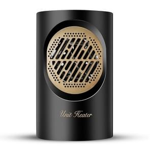 BG-360 mini huishoudelijke Desktop radiator warmer elektrische kachel warme luchtblazer (zwart)