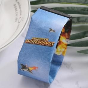 Airplane Pattern Creative Fashion Waterproof Paper Watch Intelligent Paper Electronic Wristwatch