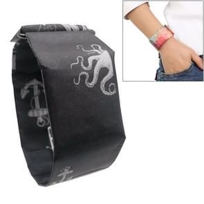 Rudder Pattern Creative Fashion Waterproof Paper Watch Intelligent Paper Electronic Wristwatch