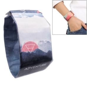Adventure Pattern Creative Fashion Waterproof Paper Watch Intelligent Paper Electronic Wristwatch