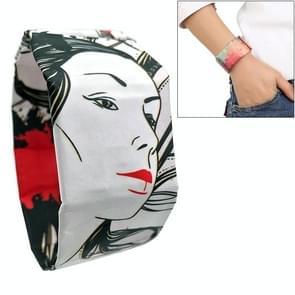 Ghost Danceing Girl Pattern Creative Fashion Waterproof Paper Watch Intelligent Paper Electronic Wristwatch