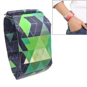 Dark Blue Triangle Pattern Creative Fashion Waterproof Paper Watch Intelligent Paper Electronic Wristwatch