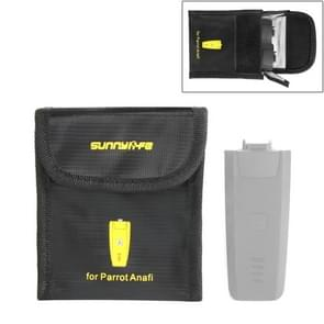 Sunnylife 2 in 1 Lithium Battery Explosion-proof Bag Safety Protection Storage Bags for Parrot Anafi Drone