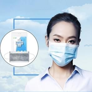 20 PCS Disposable Multi-layered Protection Dust-proof Mask(Grey)