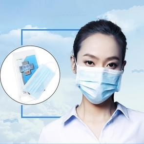 20 PCS Disposable Multi-layered Protection Dust-proof Mask(Blue)