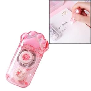 Cat Paw Shape Correction Tape Cute Portable Learning Tools Student Stationery