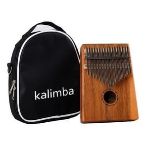 17-tone Acacia Wood Single Kalimba Thumb Piano Kalimba Finger Piano