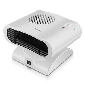 Mini schudden hoofd radiator warmer elektrische kachel warme luchtblazer (wit)