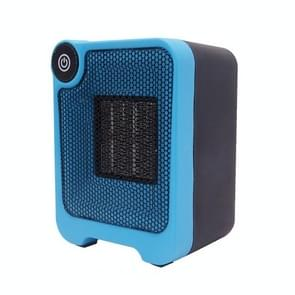 Mini Dormitory Office Desktop Radiator Warmer Electric Heater Warm Air Blower (Blue)
