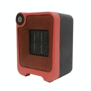Mini Dormitory Office Desktop Radiator Warmer Electric Heater Warm Air Blower (Red)