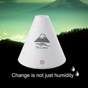 SX698 Mini Volcanic Shape Touch Switch USB LED Light Air Humidifier for Home & Office(White)