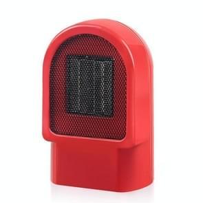 Mini huishoudelijke kantoor radiator warmer elektrische kachel warme luchtblazer (rood)