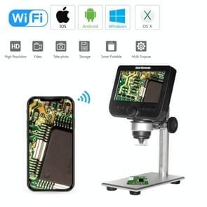 inskam317 1080P 4 3 inch LCD-scherm WiFi HD digitale microscoop  metalen beugel
