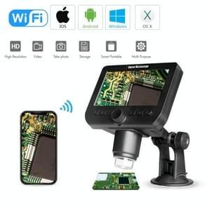 inskam317 1080P 4 3 inch LCD-scherm WiFi HD digitale microscoop  sucker bracket