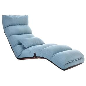 C1 Lazy Couch Tatami Opvouwbare Single Recliner Erer Window Creative Leisure Floor Chair  Grootte: 175x56x20cm(Lake Blue)