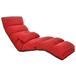 C1 Lazy Couch Tatami Opvouwbare Single Recliner Er erker Creatieve Leisure Floor Chair  Grootte: 175x56x20cm(Rood)