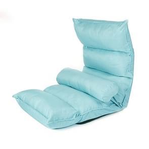 Adjustable Bedroom Bed Pregnant Women Breastfeeding Back Recliner (Blue)