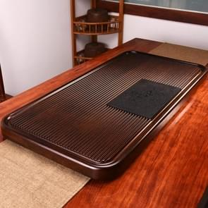 Household Solid Wood Drainage Type Rectangle Tea Tray Tea Table,The Land Of Woods And Waters, Size: 90.5x41x5cm
