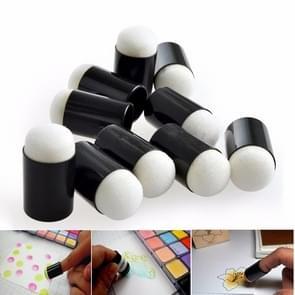 10 PCS Finger Painting Sponge Daubers Coloring Foam Fingertips