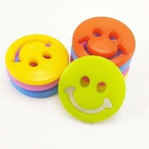 400 stuks Smile gezicht hars kinderen trui knoppen naaien knoppen in Bulk  willekeurige kleur  Diameter: 12.5mm