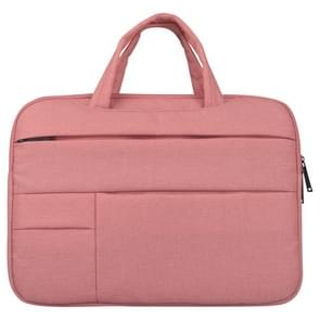 Universele 12 inch Business stijl Laptoptas met Oxford stof voor MacBook  Samsung  Lenovo  Sony  Dell  Chuwi  Asus  HP (roze)
