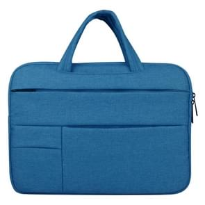 Universele 12 inch Business stijl Laptoptas met Oxford stof voor MacBook  Samsung  Lenovo  Sony  Dell  Chuwi  Asus  HP (blauw)