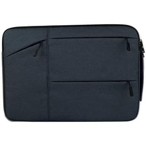 Universele 14 inch Laptoptas Sleeve met Oxford stof en zijvakjes voor MacBook  Samsung  Lenovo  Sony  Dell  Chuwi  Asus  HP (marine blauw)