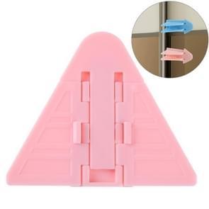 Window Safety Lock Sliding Door Window Lock Door and Window Stopper for Children (Pink)