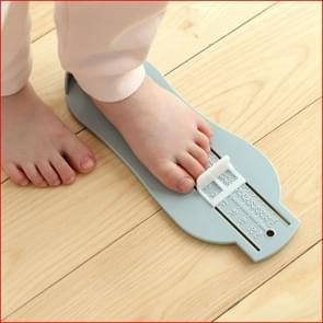 2 PC's kinderen voet lengte meten van liniaal  willekeurige kleur levering