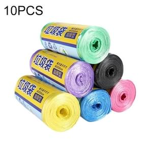 10 Rolls Household Colour Thickening Big Garbage Bags (30 PCS Per Roll), Random Color Delivery, Size:45*50cm