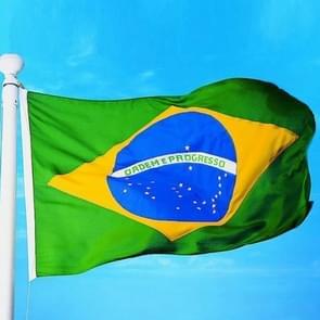 Polyester Material Brazil Flag, Size: 150*90cm