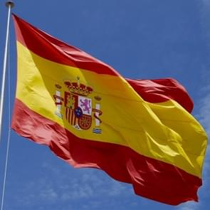 Polyester Material Spain Flag, Size: 150*90cm