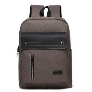 Universele multifunctionele 14 inch Laptop Schouderstas studenten Backpack met Oxford stof voor MacBook  Samsung  Lenovo  Sony  Dell  Chuwi  Asus  HP  Afmetingen: 39 x 30 x 12 cm (khaki)