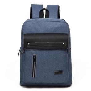 Universele multifunctionele 14 inch Laptop Schouderstas studenten Backpack met Oxford stof voor MacBook  Samsung  Lenovo  Sony  Dell  Chuwi  Asus  HP  Afmetingen: 39 x 30 x 12 cm (blauw)