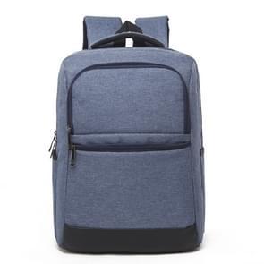 Universele multifunctionele 15.6 inch Laptop Schouderstas studenten Backpack met Oxford stof voor MacBook  Samsung  Lenovo  Sony  Dell  Chuwi  Asus  HP  Afmetingen: 42 x 30 x11 cm (blauw)
