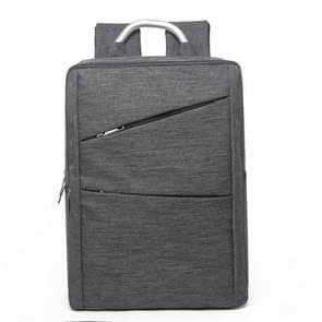 Universele multifunctionele 14 inch Laptop Schouderstas studenten Backpack met Oxford stof voor MacBook  Samsung  Lenovo  Sony  Dell  Chuwi  Asus  HP  Afmetingen: 40 x 28 x 12 cm (grijs)