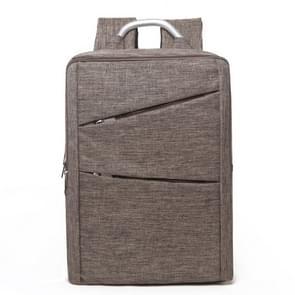 Universele multifunctionele 14 inch Laptop Schouderstas studenten Backpack met Oxford stof voor MacBook  Samsung  Lenovo  Sony  Dell  Chuwi  Asus  HP  Afmetingen: 40 x 28 x 12 cm (khaki)