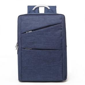 Universele multifunctionele 14 inch Laptop Schouderstas studenten Backpack met Oxford stof voor MacBook  Samsung  Lenovo  Sony  Dell  Chuwi  Asus  HP  Afmetingen: 40 x 28 x 12 cm (blauw)