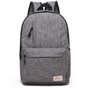 Universele multifunctionele 15.6 inch Laptop Schouderstas studenten Backpack voor MacBook  Samsung  Lenovo  Sony  Dell  Chuwi  Asus  HP  Afmetingen: 42 x 29 x 13 cm (grijs)