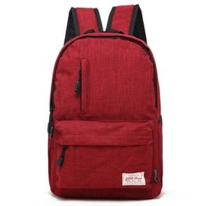 Universele multifunctionele 15.6 inch Laptop Schouderstas studenten Backpack voor MacBook  Samsung  Lenovo  Sony  Dell  Chuwi  Asus  HP  Afmetingen: 42 x 29 x 13 cm (rood)